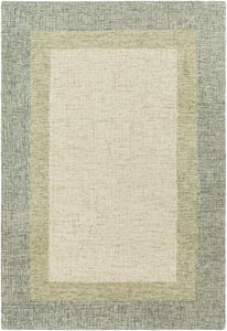 Sage, Olive, Cream (EAE-2302) Elena 29555 Contemporary / Modern Area Rugs