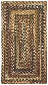 Burgundy Eaton Braided Country Area Rugs