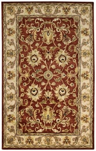 Arabian Red Guilded Hand Tufted Traditional / Oriental Area Rugs