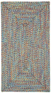 Fiesta Bright Sea Pottery Concentric Country Area Rugs