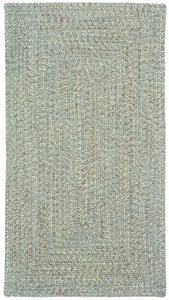 Spa Sea Pottery Concentric Country Area Rugs