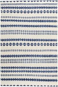 Natural, Blue Genevieve Gorder - Scandinavian Stripe Scandinavian Stripe Moroccan Area Rugs