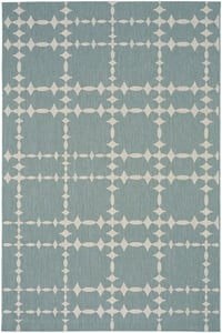 Blue Cococozy - Elsinore Tower Court Tower Court Contemporary / Modern Area Rugs