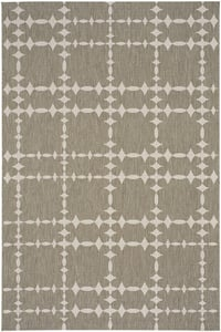 Wheat Cococozy - Elsinore Tower Court Tower Court Contemporary / Modern Area Rugs
