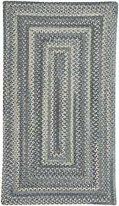Blue Jean Tooele - Braided Braided Country Area Rugs