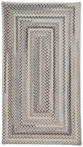 Grey Tooele - Braided Braided Country Area Rugs