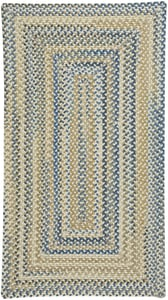 Light Tan Tooele - Braided Braided Country Area Rugs