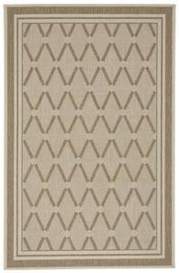 Wheat Biltmore - Elsinore Lattice Contemporary / Modern Area Rugs