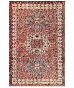 Red (24) Carmel 8409 Traditional / Oriental Area Rugs