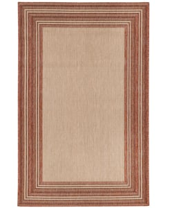 Red Carmel 8425 Contemporary / Modern Area Rugs
