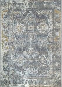 Grey (8044-47) Marina Kashan Vintage / Overdyed Area Rugs