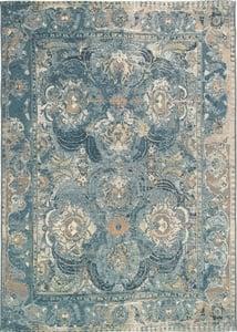 Blue (8044-03) Marina Kashan Vintage / Overdyed Area Rugs