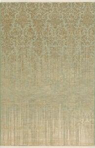 Seaglass, Ivory, Tan (16008) Titanium Tiberio Vintage / Overdyed Area Rugs