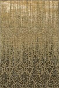 Gray, Tan, Ivory (16009) Titanium Tiberio Vintage / Overdyed Area Rugs