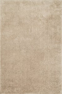 Sand Cozy Shag CZ-01 Solid Area Rugs