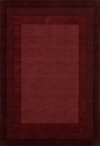 Red Hamilton HM-01 Contemporary / Modern Area Rugs