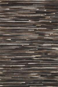 Charcoal Promenade PO-03 Contemporary / Modern Area Rugs