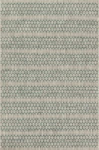 Grey, Teal Isle IE-01 Contemporary / Modern Area Rugs
