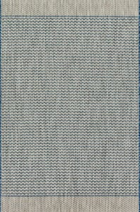Grey, Blue Isle IE-03 Contemporary / Modern Area Rugs