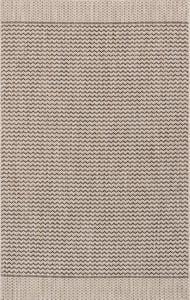 Grey, Black Isle IE-03 Contemporary / Modern Area Rugs