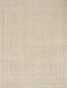 Oatmeal, Ivory Origin OI-01 Contemporary / Modern Area Rugs