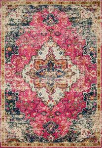 Pink, Midnight Nadia NN-04 Traditional / Oriental Area Rugs