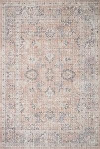 Grey, Blush Skye Printed SKY-01 Traditional / Oriental Area Rugs