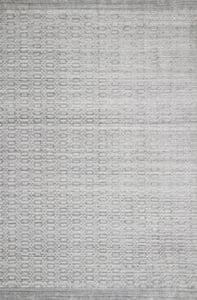 Silver Lennon LEN-01 Contemporary / Modern Area Rugs