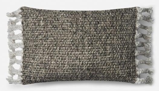 Grey, Ivory ED Pillow P4061 Bohemian Pillow
