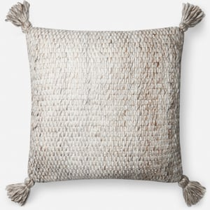 Ivory, Chocolate ED Pillow P4065 Bohemian Pillow