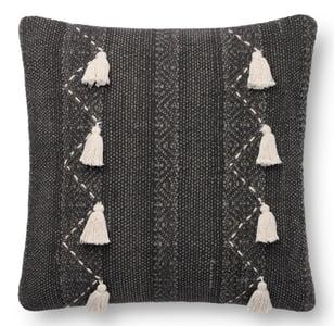 Charcoal, Natural ED Pillow P4112 Bohemian Pillow