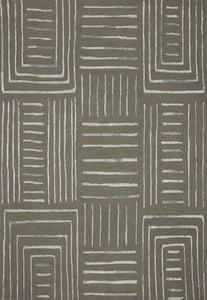 Grey, Mist Verve VER-02 Contemporary / Modern Area Rugs