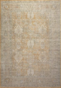 Gold, Sand Rosemarie ROE-01 Vintage / Overdyed Area Rugs