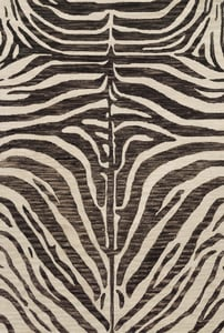 Java, Ivory Masai MAS-01 Animals / Animal Skins Area Rugs