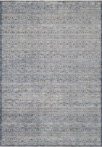 Denim, Ivory Zuma ZUM-01 Bohemian Area Rugs