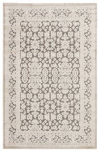 Grey, White (FB-08) Fables Regal Contemporary / Modern Area Rugs