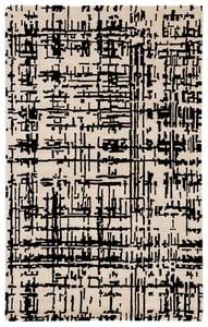 Cream, Black (CLN15) Clayton Pals Contemporary / Modern Area Rugs
