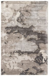 Pumice Stone, Grey, Midnight Navy (TRD-01) Transcend Glacier Abstract Area Rugs
