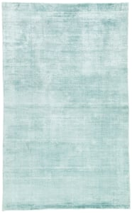 Aqua (YAS-03) Yasmin Hand Loomed Contemporary / Modern Area Rugs