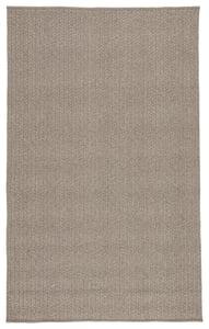 Grey (NIP-01) Nirvana Premium Iver Solid Area Rugs