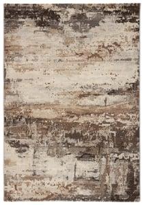 Brown, Grey (DSH-20) Dash Buxton Contemporary / Modern Area Rugs