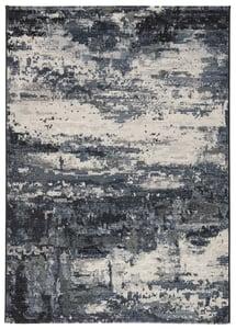 Blue, Grey (DSH-21) Dash Buxton Contemporary / Modern Area Rugs