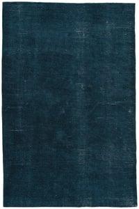 Blue, White (RBC-01) Rebecca Limon Contemporary / Modern Area Rugs