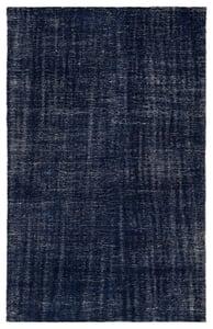 Blue, White (RBC-06) Rebecca Limon Contemporary / Modern Area Rugs