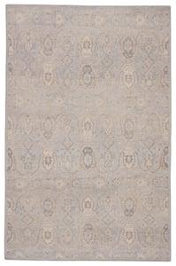 Grey, Beige (REL-11) Revolution Williamsburg Traditional / Oriental Area Rugs
