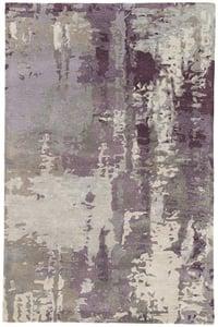 Grey, Purple (GES-09) Genesis Matcha Abstract Area Rugs