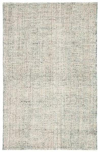Turquoise, Ivory (CTG-03) Citgo Ritz Contemporary / Modern Area Rugs
