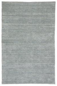 Ivory, Dark Blue (TEI-03) Trendier Minuit Striped Area Rugs