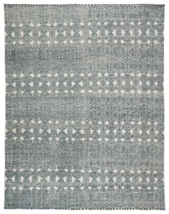 Teal, Grey (REI-12) Reign Abelle Contemporary / Modern Area Rugs