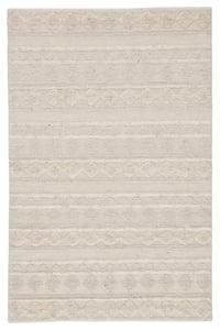 Ivory, Light Grey (MMB-01) Nikki Chu - Mumbai Elixir Bohemian Area Rugs